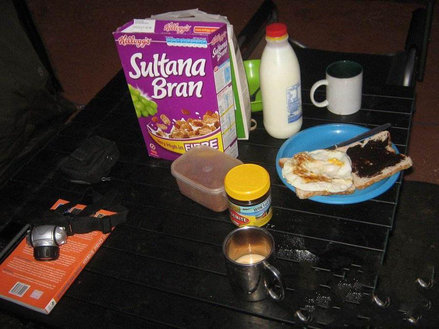 завтрак в Австралии