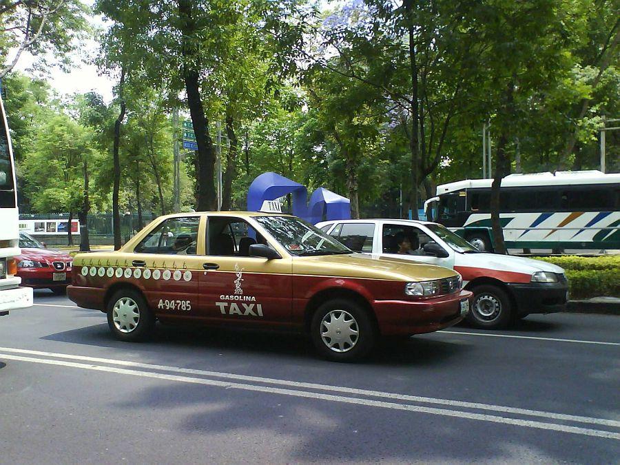 такси в мексике