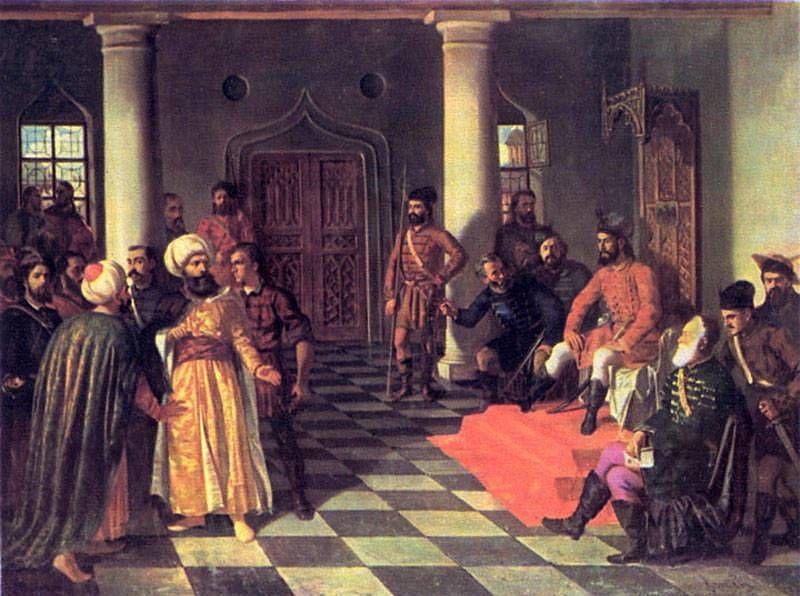 Влад Дракула и турецкие послы