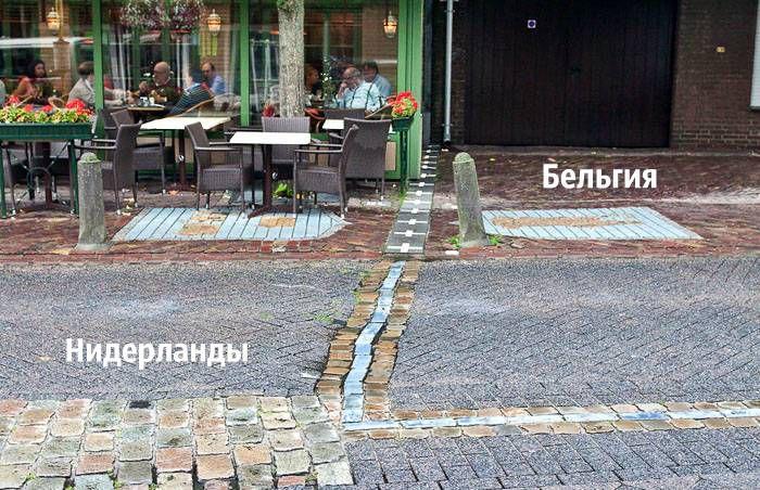 Нидерланды, Бельгия, граница