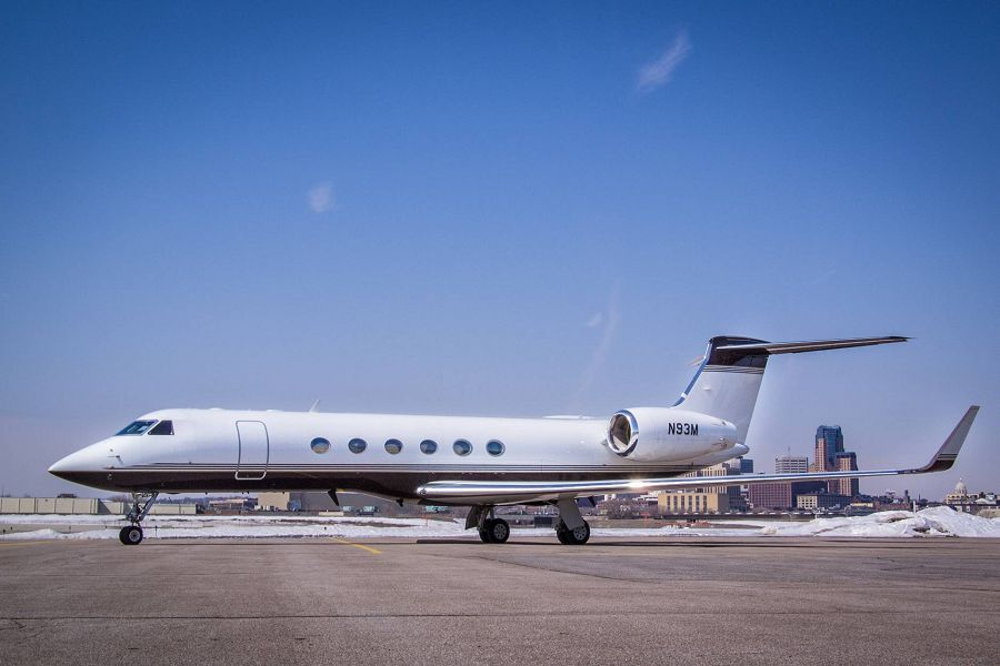 Gulfstream V, частный самолет