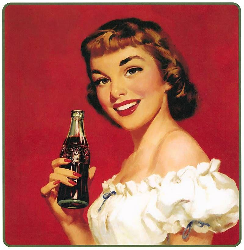 пин-ап и Coca Cola