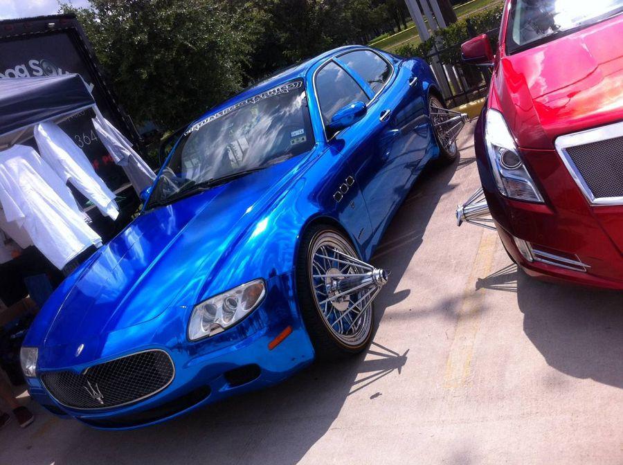Maserati, swangas