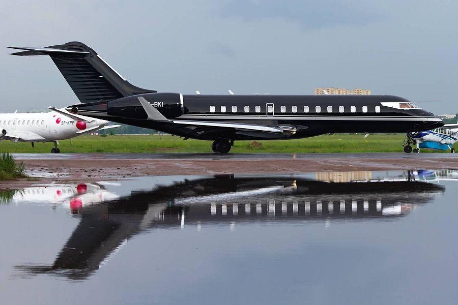 Bombardier BD-700 Global Express, частный самолет