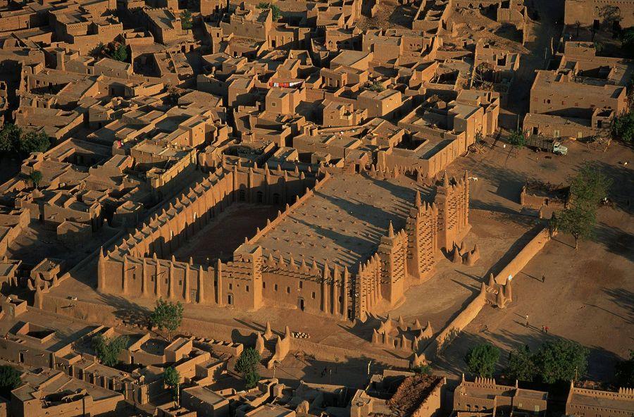 7 чудес света. Дженненская соборная мечеть в Мали