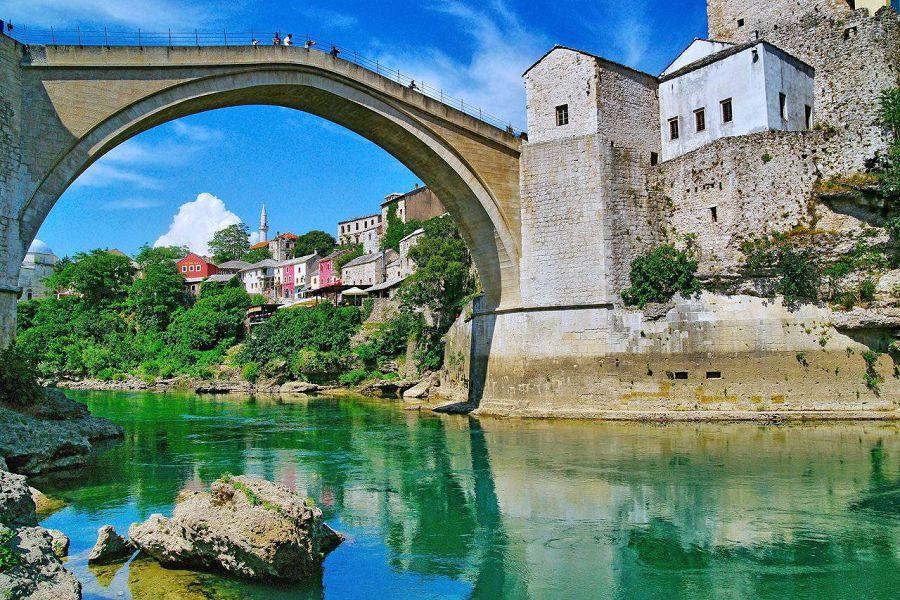 7 чудес света. Старый мост в Боснии