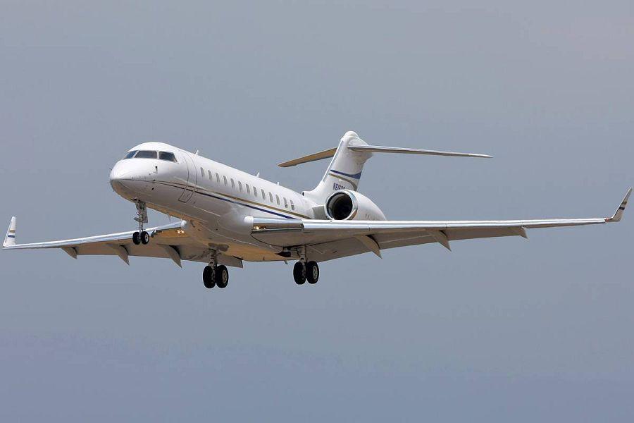 Bombardier Global Express XRS, частный самолет