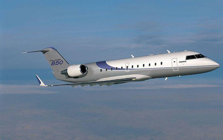 Bombardier Challenger 850, частный самолет