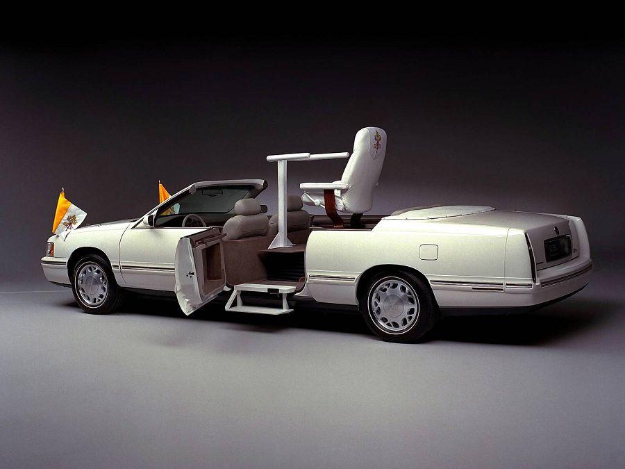 Cadillac Deville Popemobile