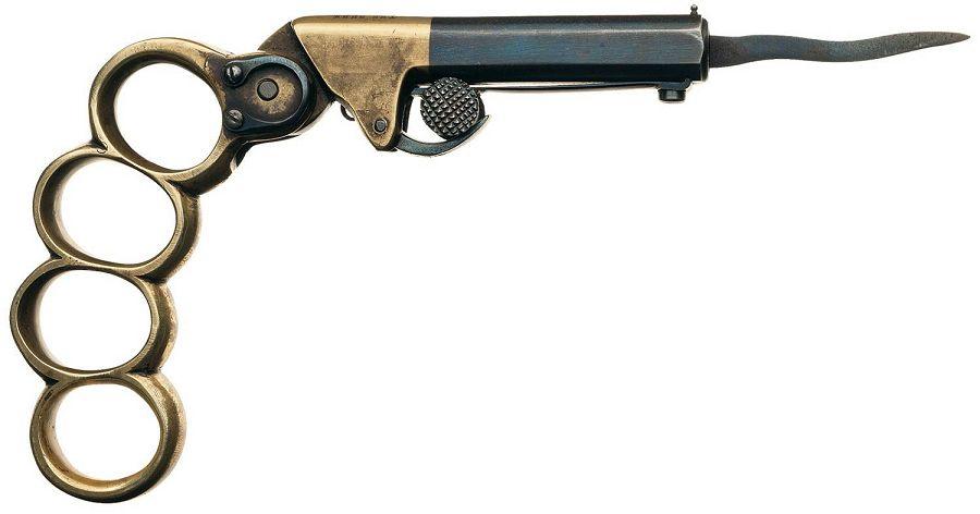 Пистолет-кастет