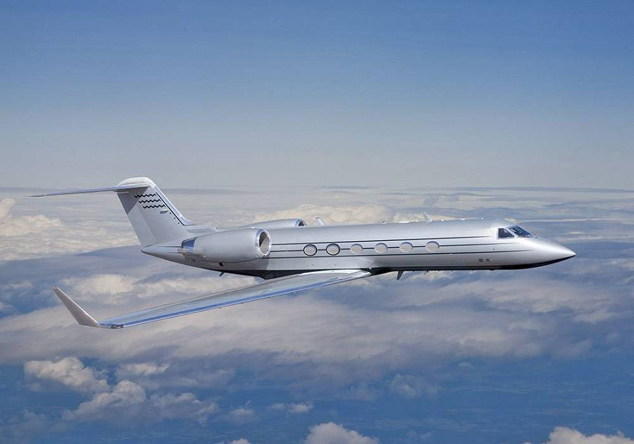 Gulfstream IV, частный самолет