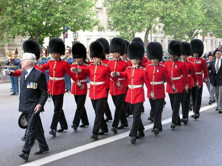 военная форма в англии