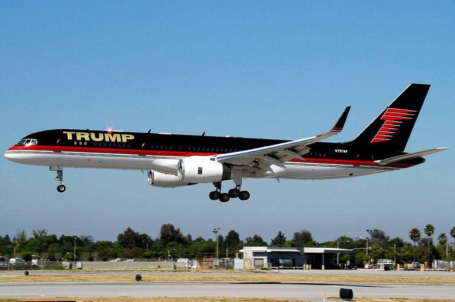 Boeing 757, Трамп