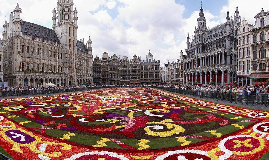 Площадь Гран Плас, Брюссель