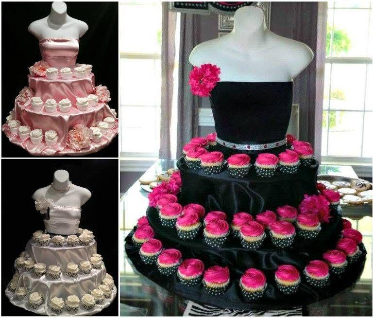 4. Платье из конфет и пирожных