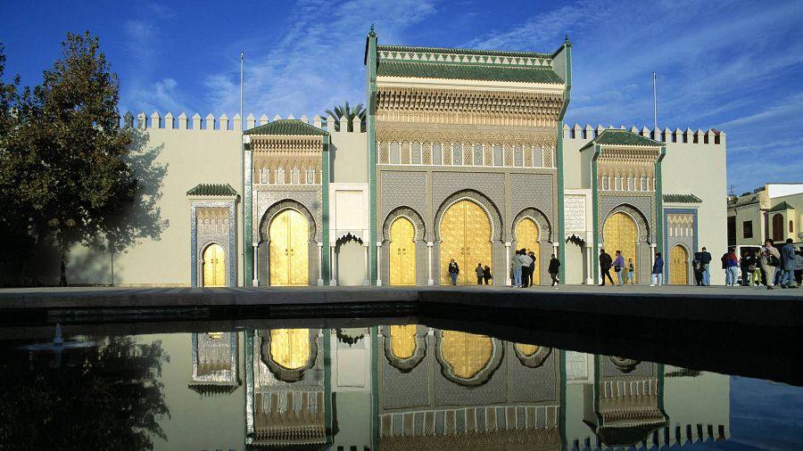 Дар аль-Махзен. Марокко.
