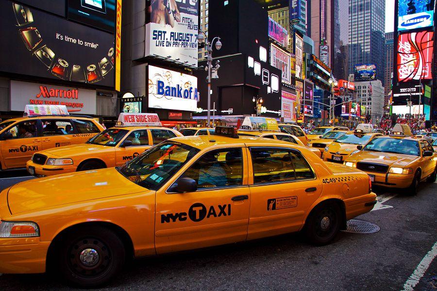 Такси в США