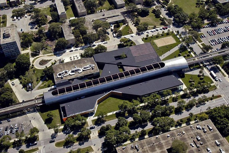 Общежитие Чикагского университета