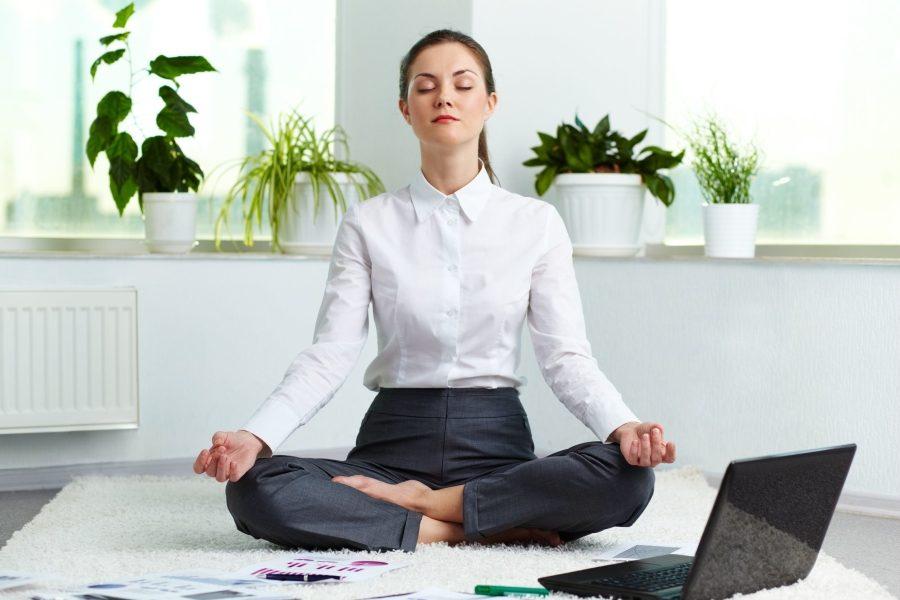 офис медитация