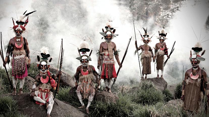 Папуа-Новой Гвинеи племя