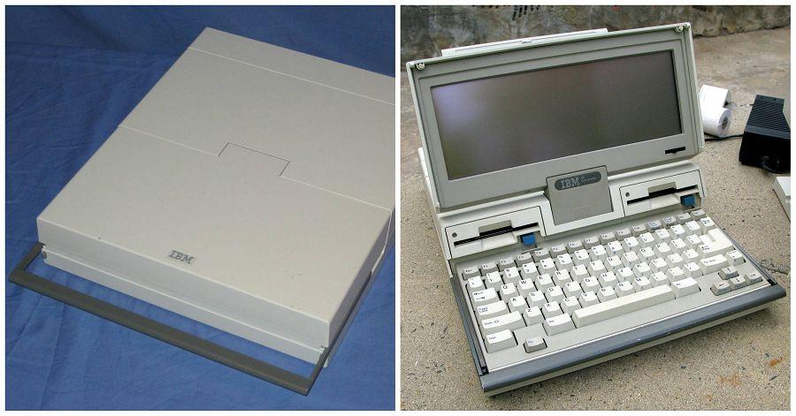 IBM Convertible PC, ноутбук, портативный ПК