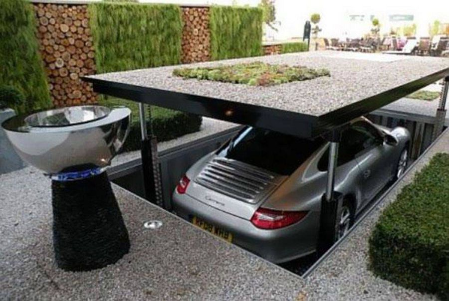 Потайной гараж