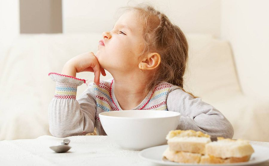 ребенок не хочет есть