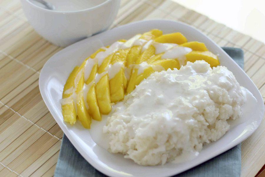 Манго с липким рисом