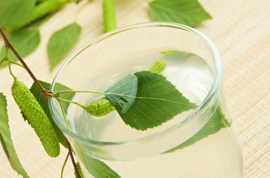 стакан березового сока