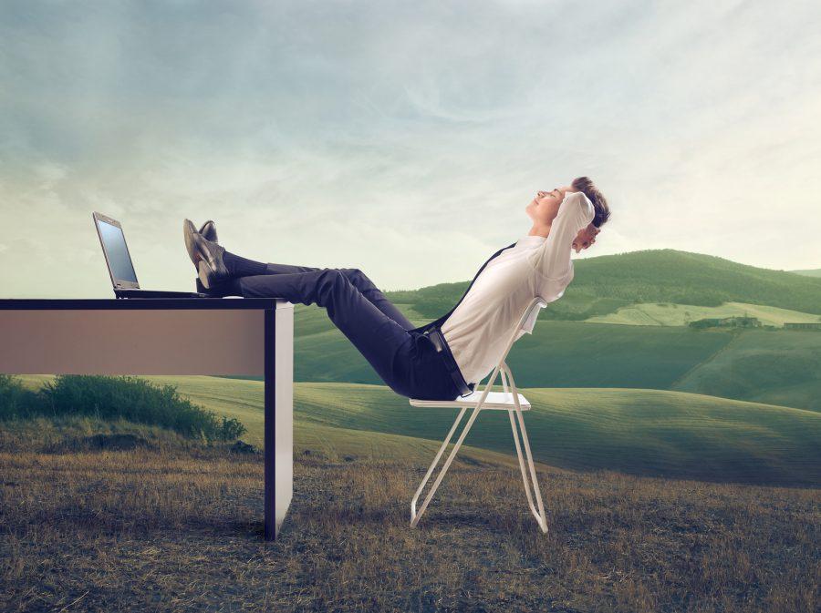 отдых от работы