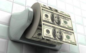 дорогая туалетная бумага