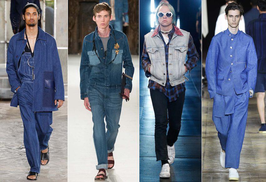 джинсовая одежда мужская