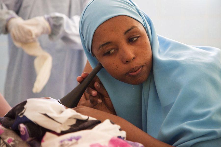 мусульманка врач