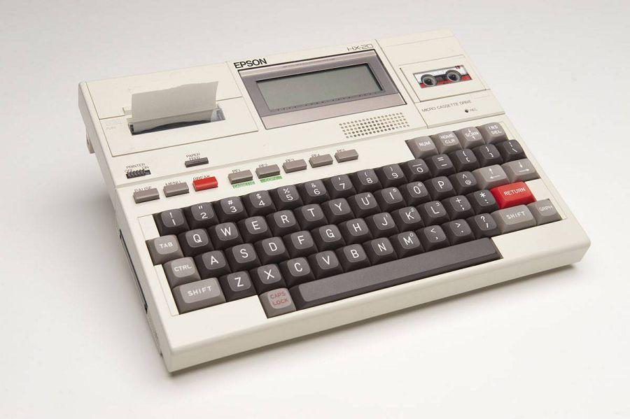 Epson HX-20, портативный ПК, ноутбук