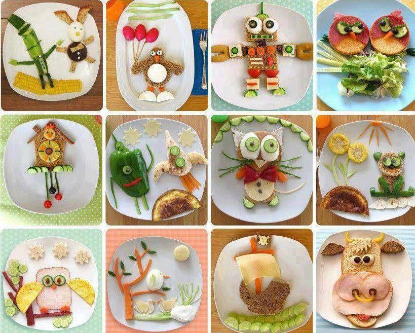креативные фрукты
