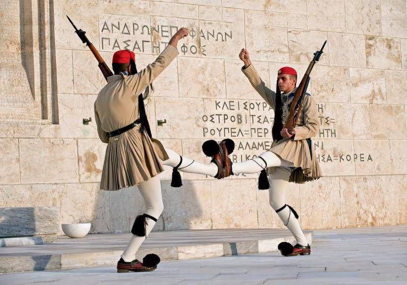 военная форма в греции