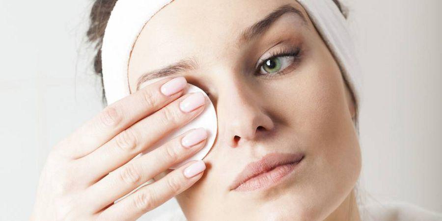 смыть макияж