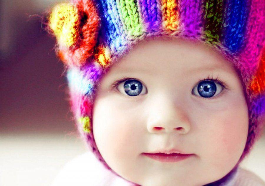 красиые глаза у ребёнка