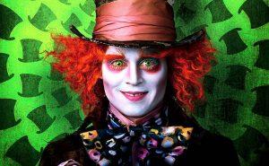 Джонни Депп, шляпник, Алиса в стране Чудес