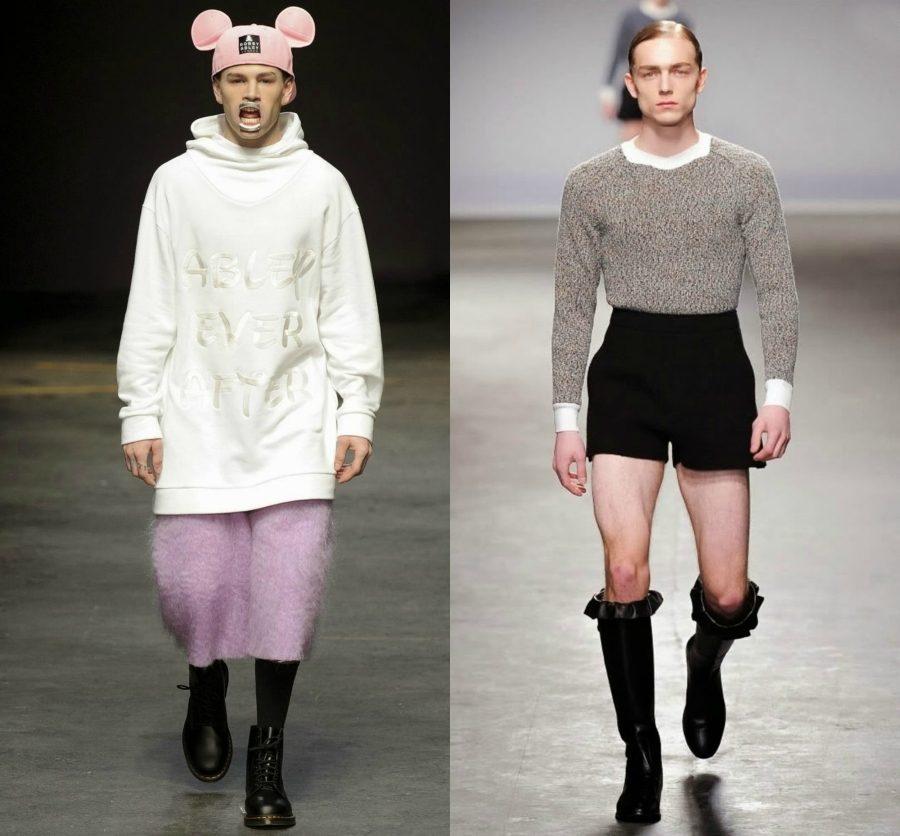 странная мужская мода