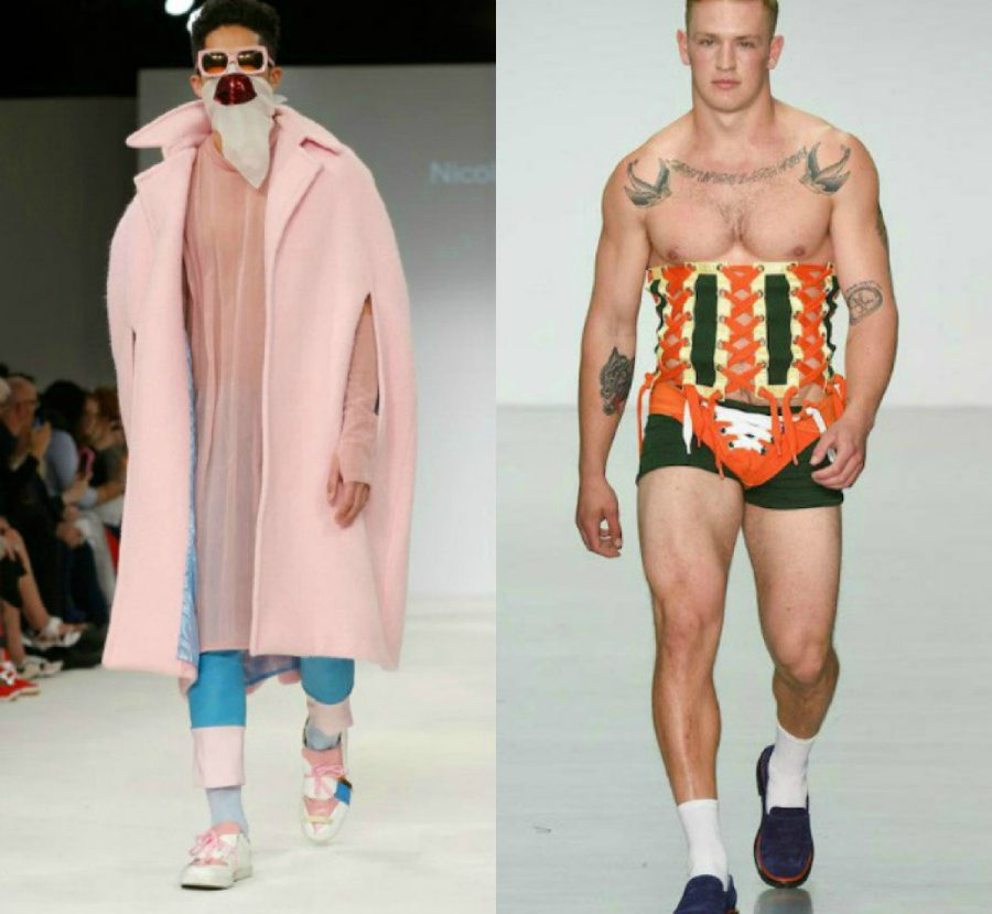 модные мужчины