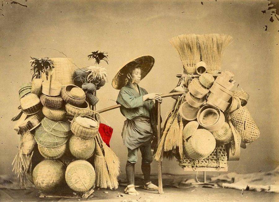 японский торговец
