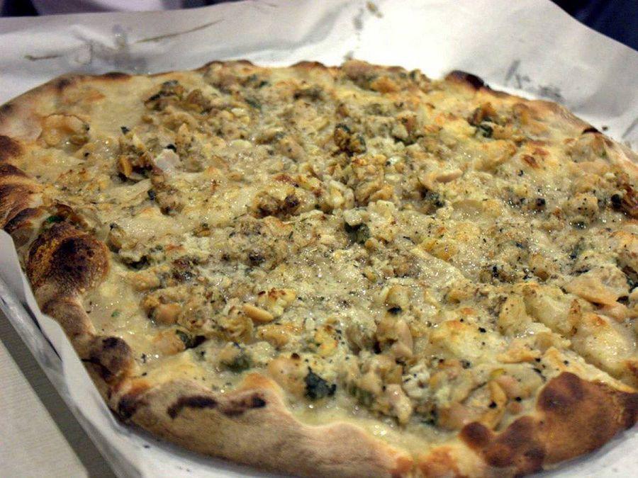пицца из Нью-Хейвен, США