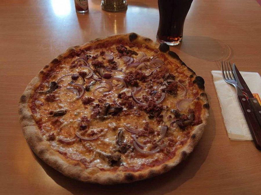 пицца в Финляндии