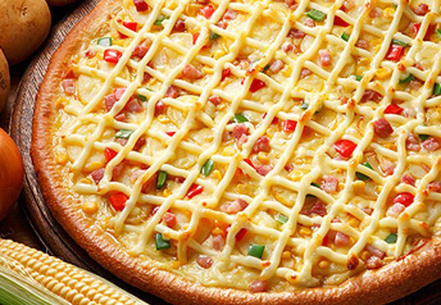 пицца в Японии