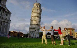 как фотографируются туристы