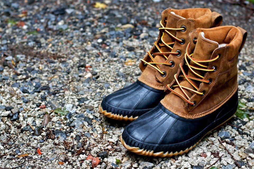 преппи.обувь для утиной охоты