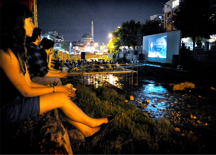 Riverbad Cinema For Dokufest In Prizren