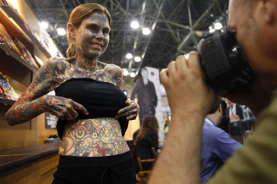 самая татуированная женщина 2