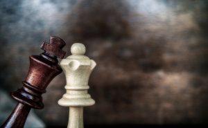 шахматы. король и королева